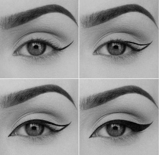 Photo of Eyeliner tuto (très) facile – BEAUTYLICIEUSE –  Das schönste Bild für  decora…