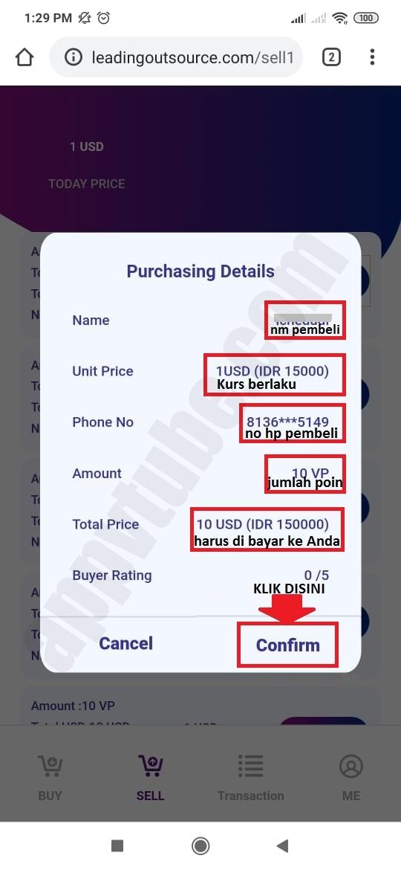 Jual Poin Vtube Exchange Counter 0819 1118 5396 Cara Mendaftar App Vtube
