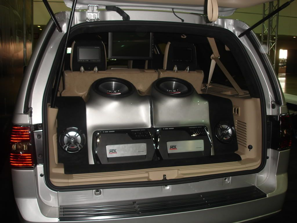Custom Fiberglass Install With Mtx Subwoofers And Amplifiers Mtxaudio