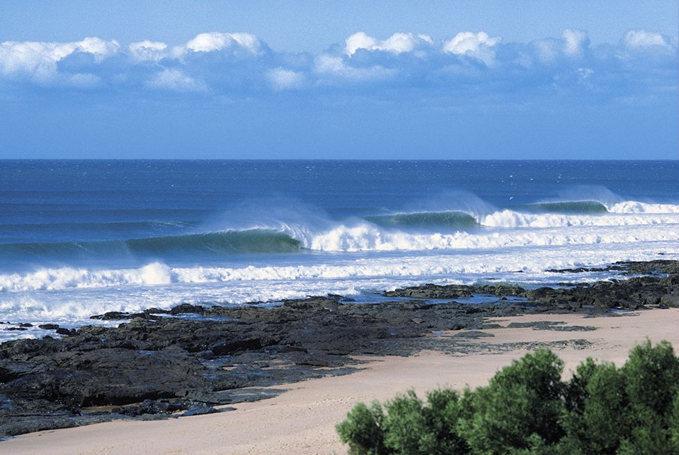 Jeffrey's Bay is by far one of the Best Surfing Spots in South Africa.