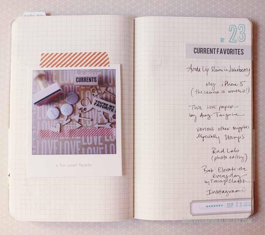 30 days of lists #journal #sketchbook