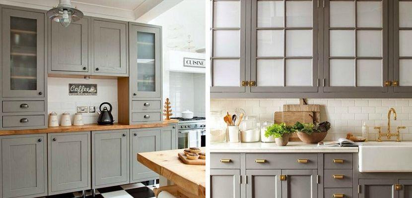 Awesome Muebles Cocina Pintados Gallery - Casas: Ideas & diseños ...