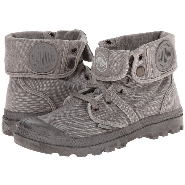 cc94550f88e63a Palladium Pallabrouse Baggy Women s Boots ( 85) ❤ liked on Polyvore  featuring shoes