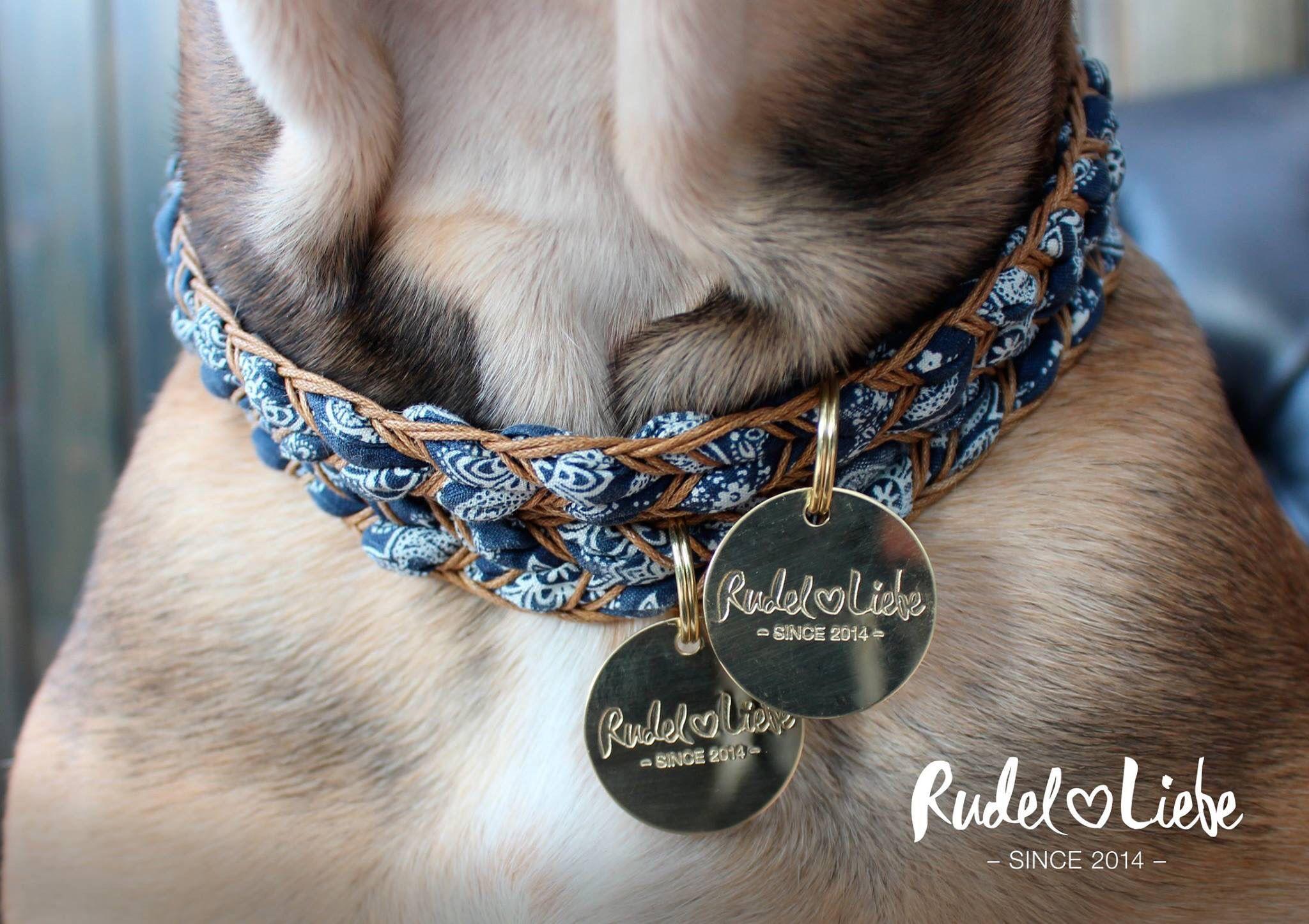 Bloom Dog Accessoire Www Rudelliebe De Halskette Hunde Hundehalskette Hund Bohodogcollars Hunde Accessoires Hundehalsband Hunde