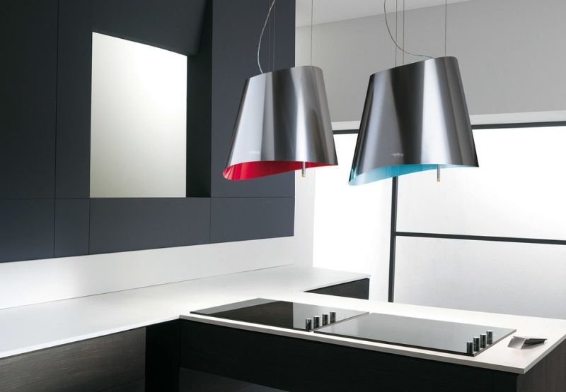 moderne dunstabzugshaube mit schlichtem design kitchen On moderne dunstabzugshaube