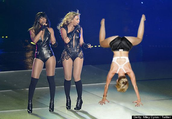 Can Miley cyrus twerking does