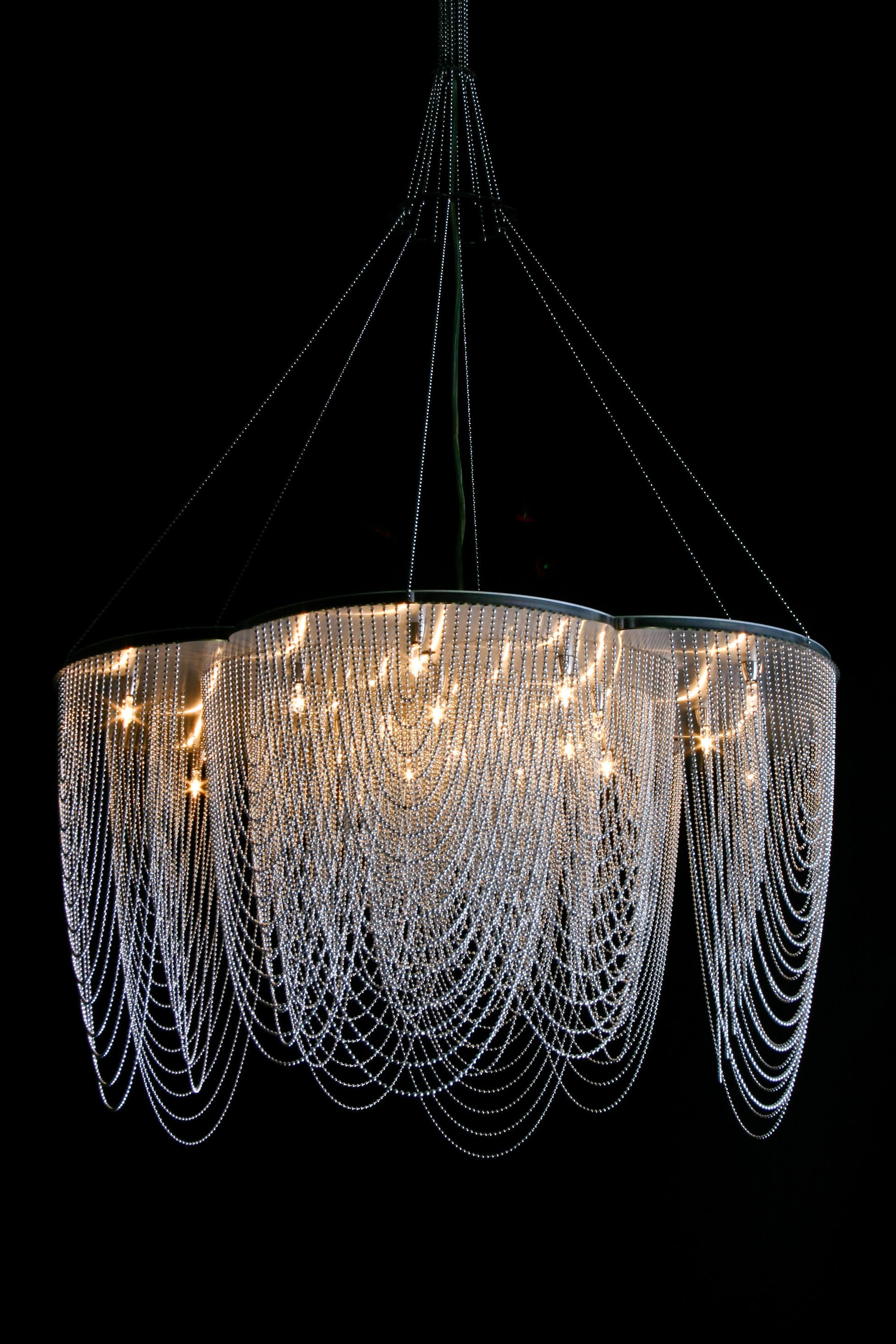 Rose 700 Suspended Looped By Willowlamp Chandeliers