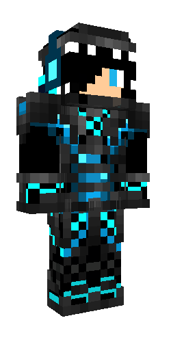 Cool Cyborg Minecraft Skins Cool Minecraft Skins Boy Minecraft Skins Aesthetic