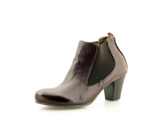 Leather Giusy Chelsea Moro Boot 5637 LILIMILL BROWN Tequila vwfIq