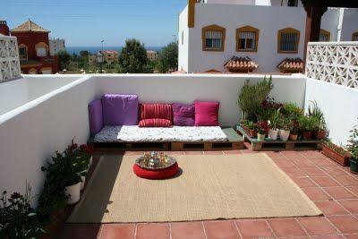 Terraza chill out por cuarto duros decoraci n exterior terrazas patios - Terrazas chill out ...