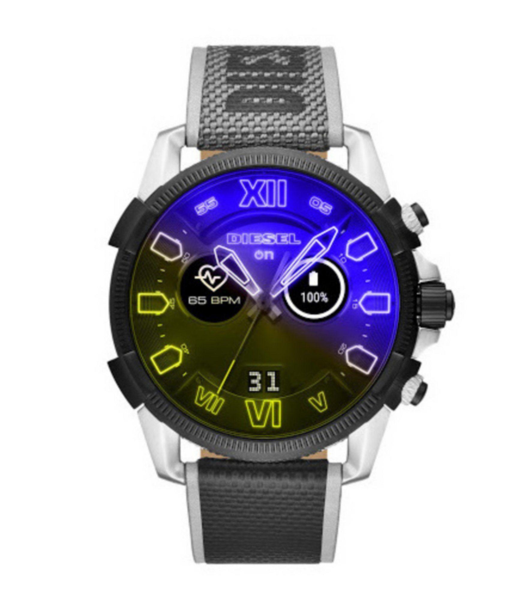 Diesel Full Guard 2 5 Touchscreen Smartwatch Black N A Diesel Watch Bands Smartwatch Features