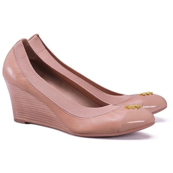 baf479f9bca Tory Burch Jolie Wedges ( 285) ❤ liked on Polyvore featuring shoes ...