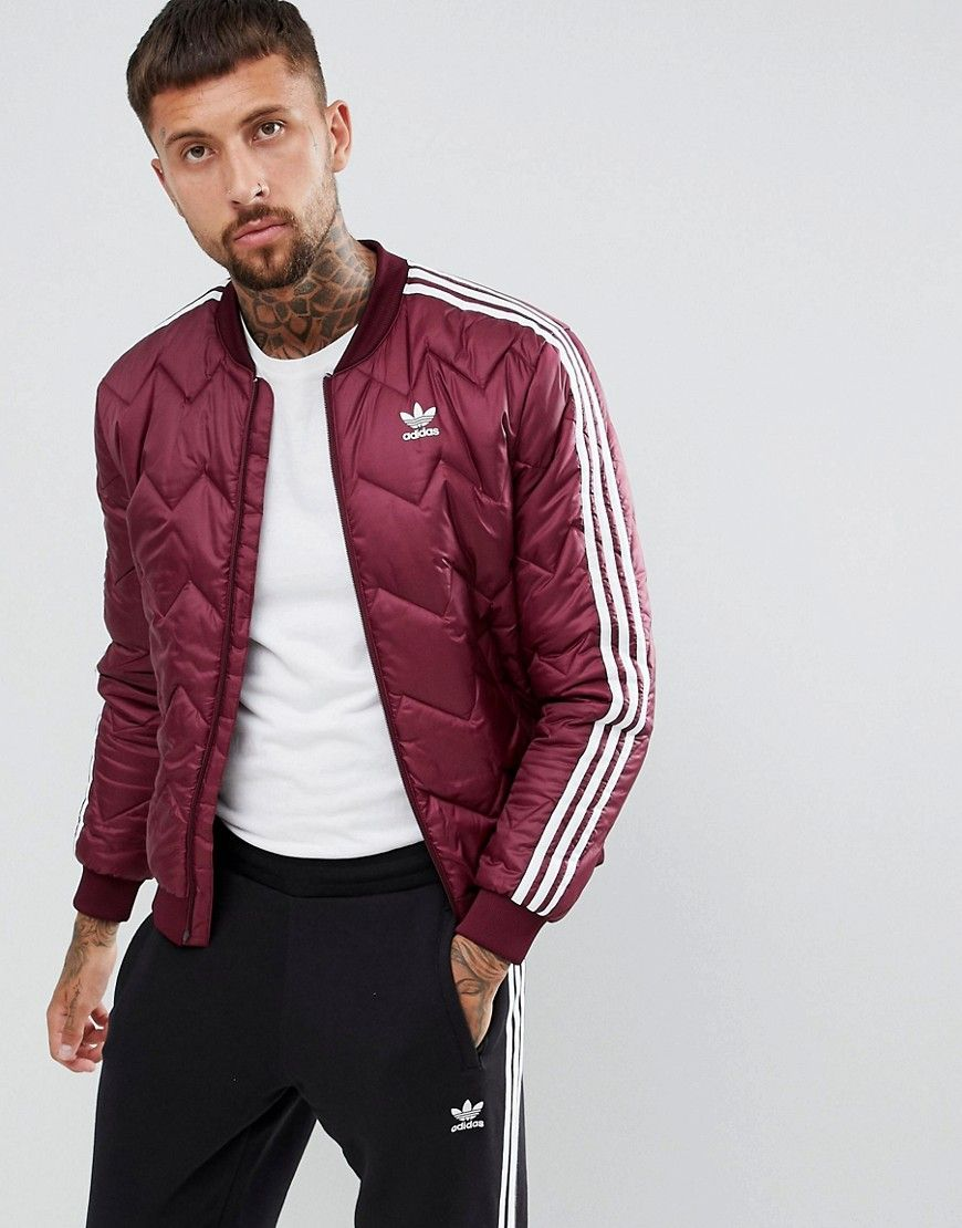 adidas originals quilted superstar bomber jacket