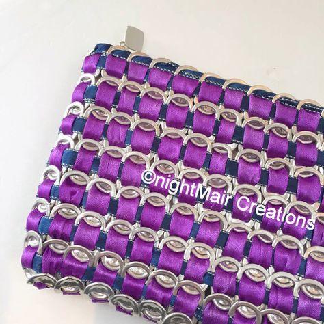 nightMair creations ©rock recycled tab purse