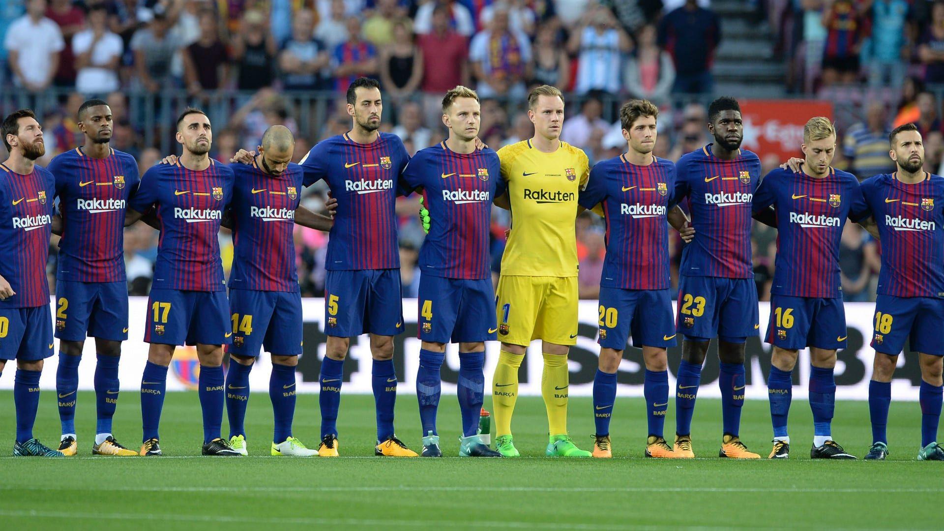 الآن نتيجة مباراة برشلونة وإسبانيول في ربع النهائي من كأس ملك إسبانيا Sports Soccer Field Soccer