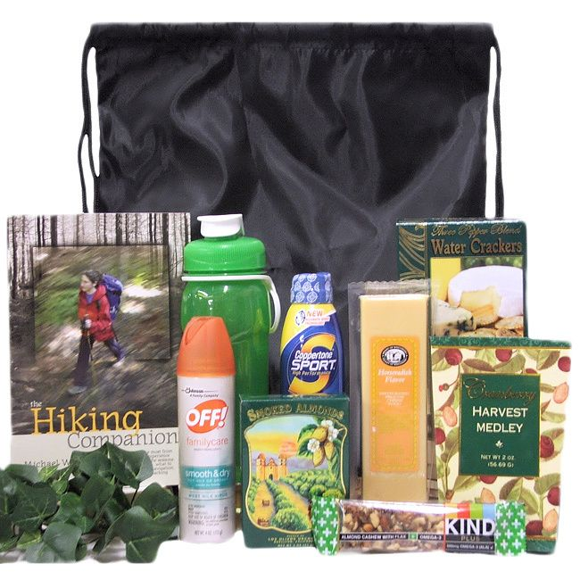 Take A Hike Hiking Outdoor Gift Basket Holiday Ideas