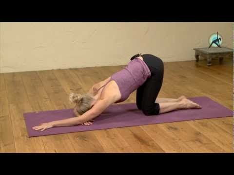 yin yoga pose for the shoulders 1/4 dog pose  yin yoga