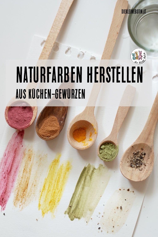 Naturfarben Die Man Riechen Kann Naturfarben Selber Machen