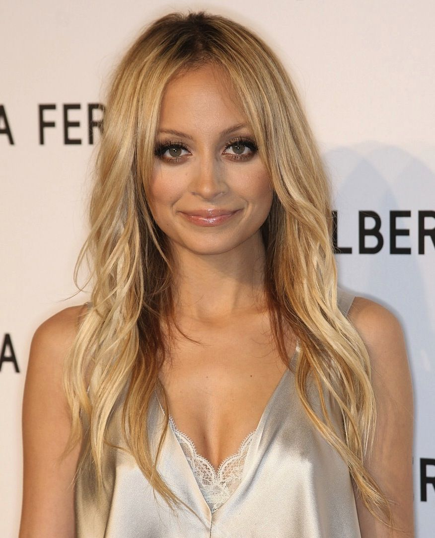 Light Blonde Hair Olive Skin Google Search Nicole Richie Hair