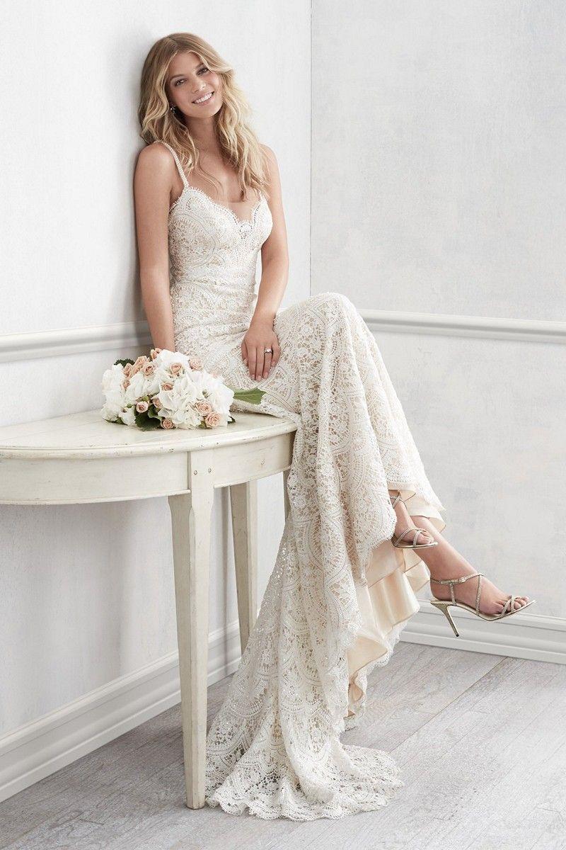 Wtoo 16153b Elise Wedding Dress In 2020 Wedding Dresses Lace Wedding Dresses Strapless Wedding Dresses