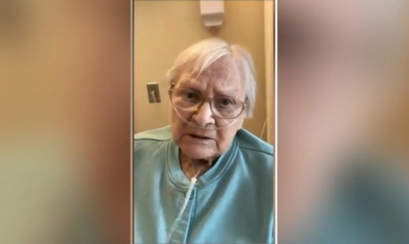 Edith Brachman completou 100 anos no verão passado. No mês passado, ela testou positivo para o coronavírus