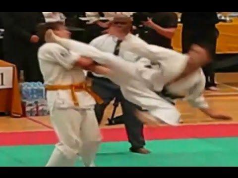 Kyokushin Fast knockout - YouTube