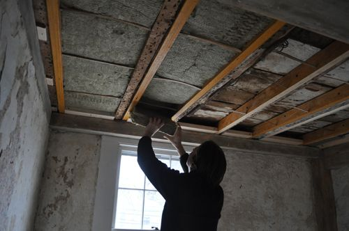 How To Install Insulation In Basement Ceiling