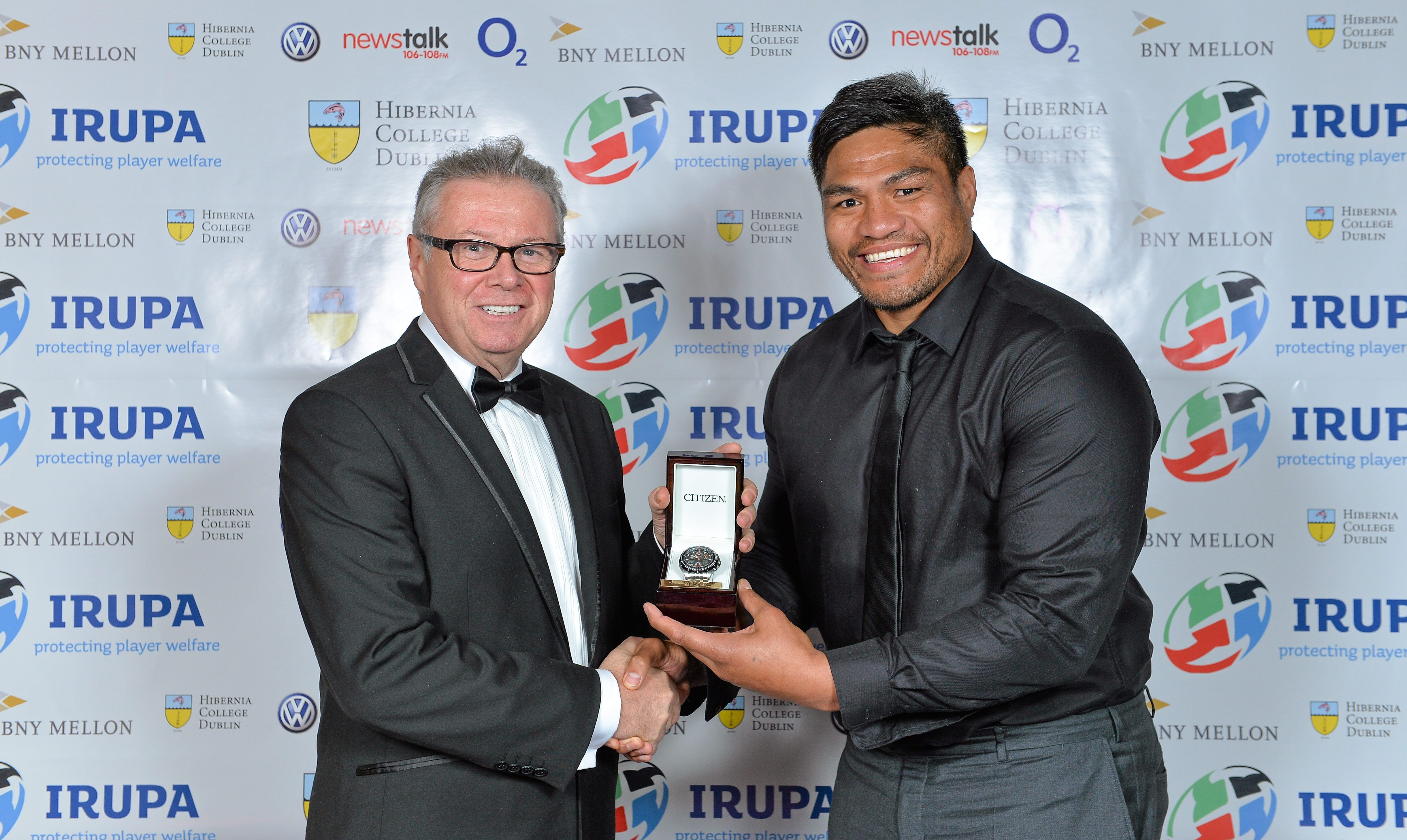 The 2013 Hibernia College IRUPA Players' Player of the Year, Nick ...