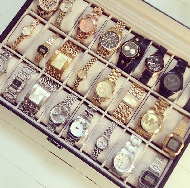 It doesn't take much for closets to turn into cluttered chaos. For my guy who loves watches.   Closet decor, Closet ...