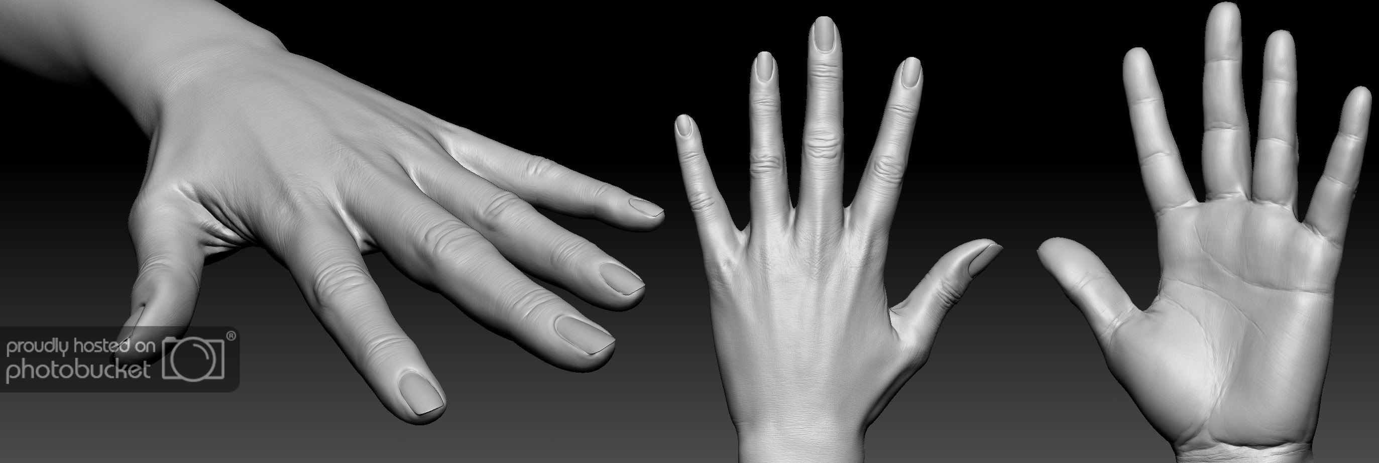 CGFeedback , View Single Post , Realistic woman hand