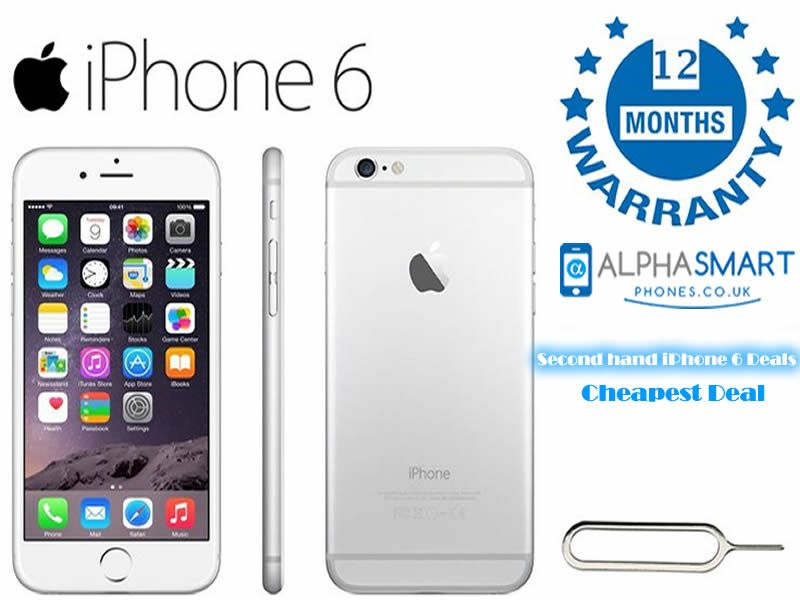 Buy Second Hand Iphone 6 16gb Silver Unlocked Sim Free Https