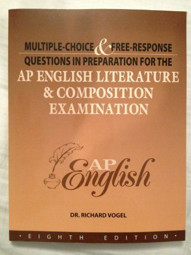 ap english literature composition examination th edition  ap english literature composition examination 8th edition multiple choice response