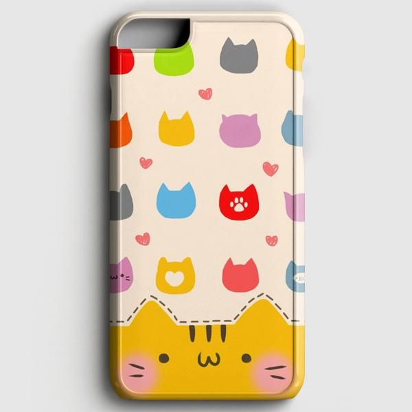 Cute Cat Pattern iPhone 6/6S Case | casescraft