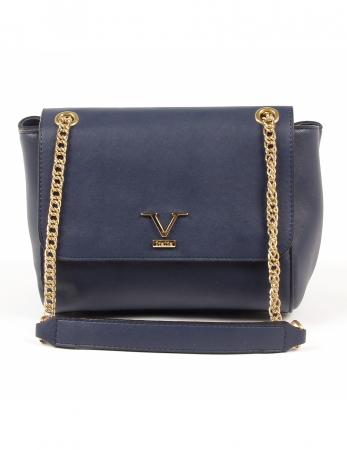 c2f24334dd V 1969 Italia Womens Handbag Dark Blue PRISCILLA Womens Handbag Dark Blue  PRISCILLA Dark Blue ONE SIZE
