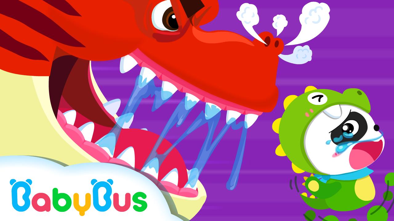 T Rex Feroz Babybus Cartoon Canciones Infantiles Dinosaurios Para Niños Canciones