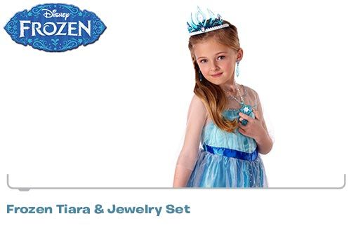 Disney's Frozen - Frozen Tiara and Jewelry Set
