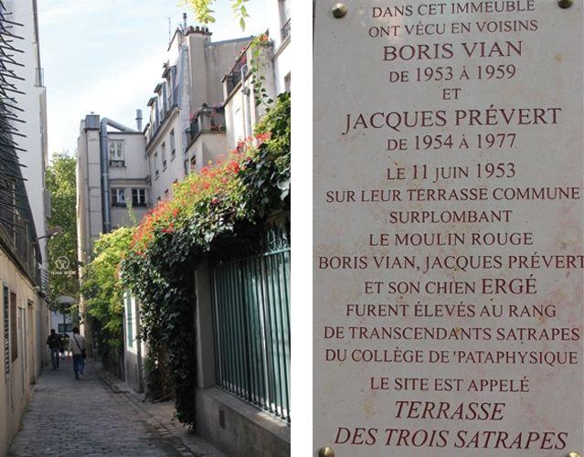 Visite dessinée de la maison de Jacques Prévert Jacques prévert