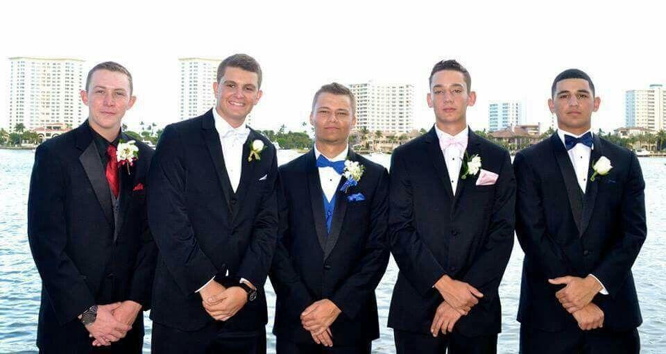 Brandon's Senior prom