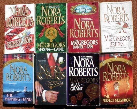 Nora Roberts 8 Pb Book Lot Macgregor Series Complete  My -4331