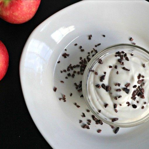 Sugar Free Peanut Fruit Dip or Topping - Grassfed Mama FP