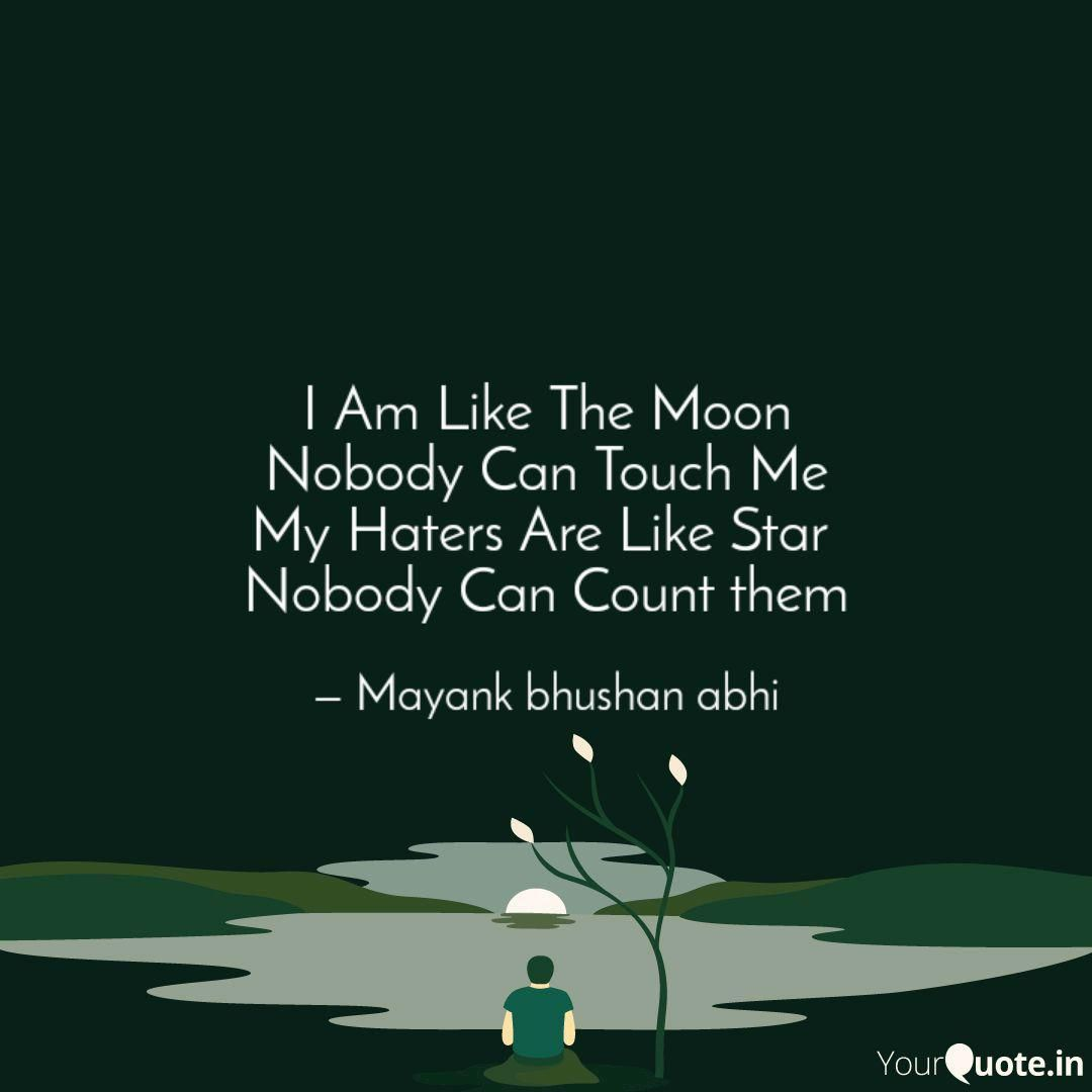 Mayank bhushan Abhi says, ' I Am Like The Moon Nobody Can Touch Me