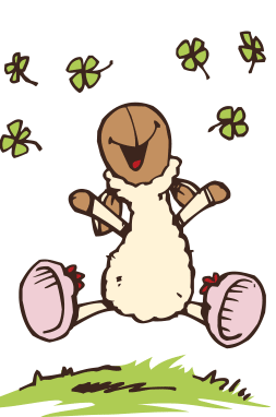 nici: jolly mäh:) | funny sheep, kids canvas, easy drawings