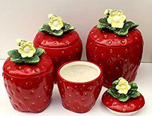 900 Strawberry Decor Ideas In 2021 Decorations Kitchen