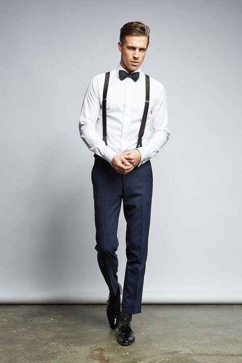 Qualitätsvolle, moderne Anzüge für den Bräutigam von The
