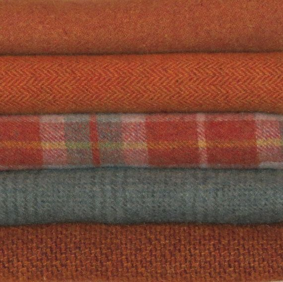 CIDER MILL - Wool for  Rug Hooking, Applique, Penny Rugs, Quilting on Etsy, $10.95