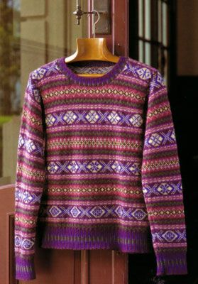 Fair Isle Knitting (Japanese) – Needle Arts Knitting | Fair Isle ...