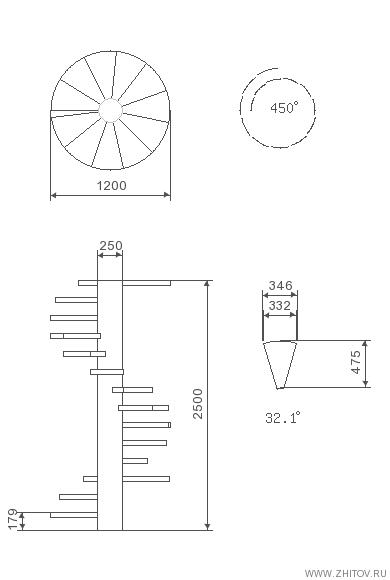 Cálculo Da Escada Em Espiral Staircase Escadas Escadas Em