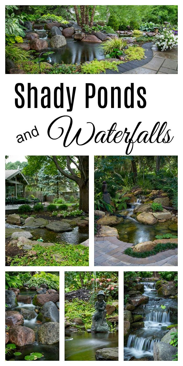 Shady Ponds and Waterfalls - Aquascape Inc. #pond # ...
