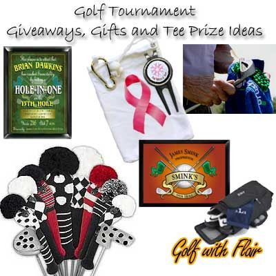 Golf tournament prizes ideas