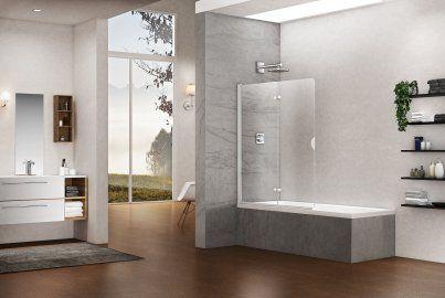 Vasca Da Bagno Tipologie : Box doccia per vasca da bagno u vari tipi di pareti duka bagno